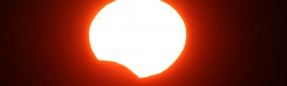 Astrónomo de la UA captó imágenes del eclipse solar