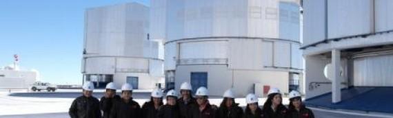 Estudiantes de Baquedano visitaron el Observatorio Cerro Paranal