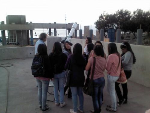 Observación en Campus Coloso