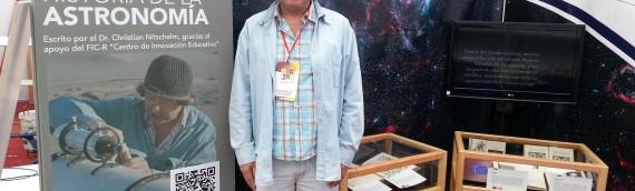 ¡Historia de la astronomía en la FILZIC!