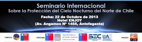 Seminario internacional de contaminación lumínica llega a Antofagasta