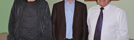 Nuevo Representante de ESO en Chile de visita en Unidad de Astronomía de la UA