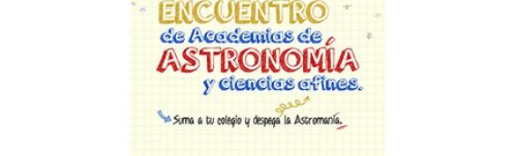 II Encuentro de Academias de Astronomía y Ciencias afines