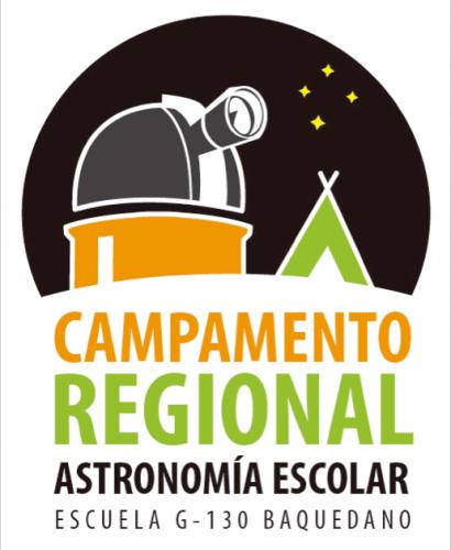 Logo del Campamento Regional de Astronomía Escolar