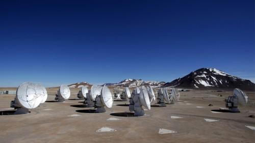 ALMA radio astronomia