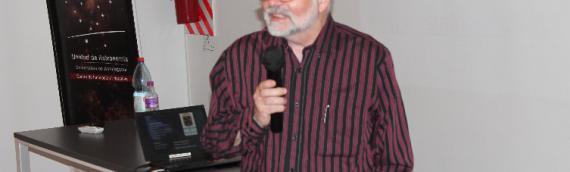 Nikolaus Vogt sobre su charla en la Biblioteca Regional: «Aún falta mucho que divulgar»