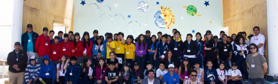 Campamento Regional de Astronomía finaliza con exitosa convocatoria