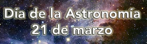 ¡Celebraremos el Día de la Astronomía!