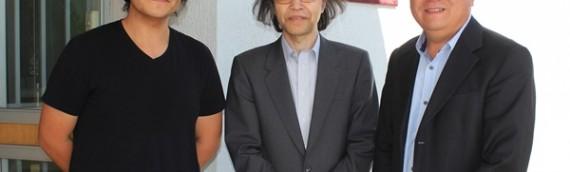 Representantes del proyecto TAO visitaron la Unidad de Astronomía