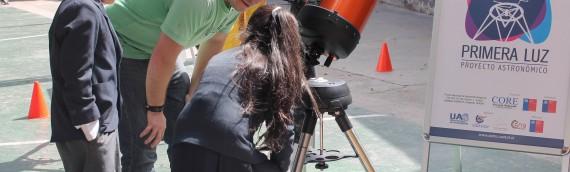 """Comenzó """"Primera Luz"""" con itinerancias solares en la Región"""