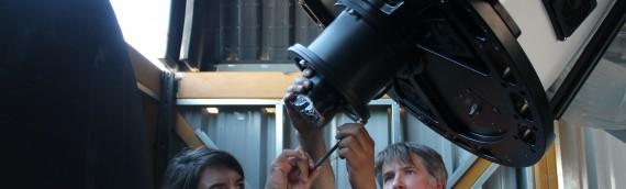 La UA recibe a astrónomos en una colaboración tecnológica