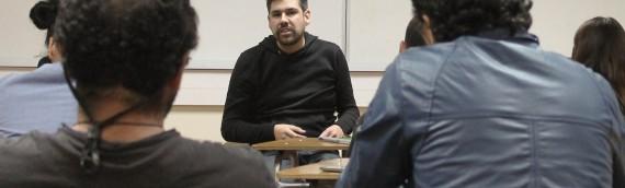 Interesante invitado expone en la Escuela de Invierno