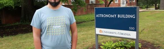 Miembro del proyecto FIC-R de Astroingeniería recibe capacitación en el extranjero
