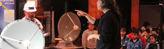 Unidad de Astronomía y ALMA lanzan novedoso proyecto educativo