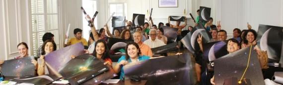Taller de astronomía para profesores de la región de Antofagasta