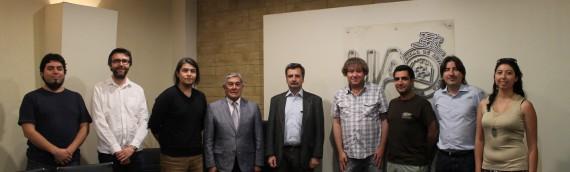 UA firma convenio con ESO y formaliza colaboraciones entre ambas instituciones
