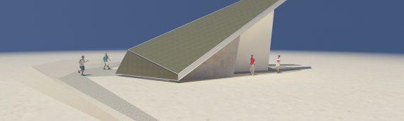 Nos habla el arquitecto del auditorio en el Observatorio Ckoirama