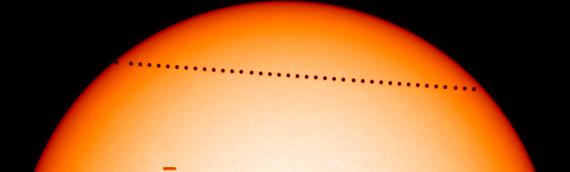 «Tránsito de Mercurio», un fenómeno poco común
