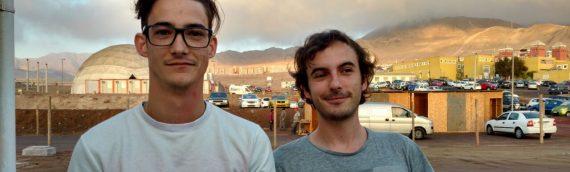 Estudiantes franceses de astrofísica inician pasantía